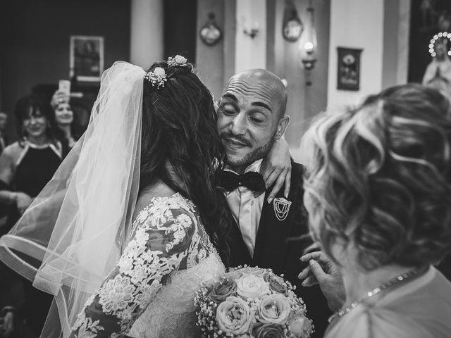 Il matrimonio di Antonio e Cristina a Tuscania, Viterbo 23