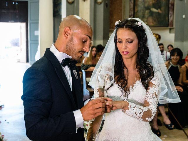 Il matrimonio di Antonio e Cristina a Tuscania, Viterbo 25