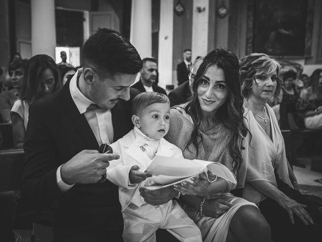 Il matrimonio di Antonio e Cristina a Tuscania, Viterbo 28