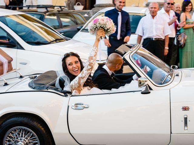 Il matrimonio di Antonio e Cristina a Tuscania, Viterbo 33