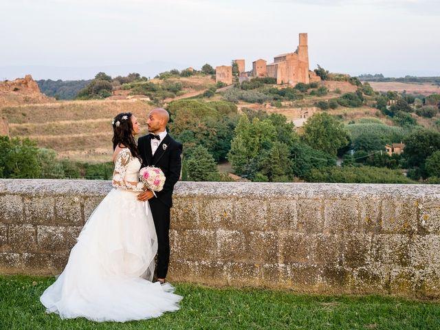 Il matrimonio di Antonio e Cristina a Tuscania, Viterbo 35