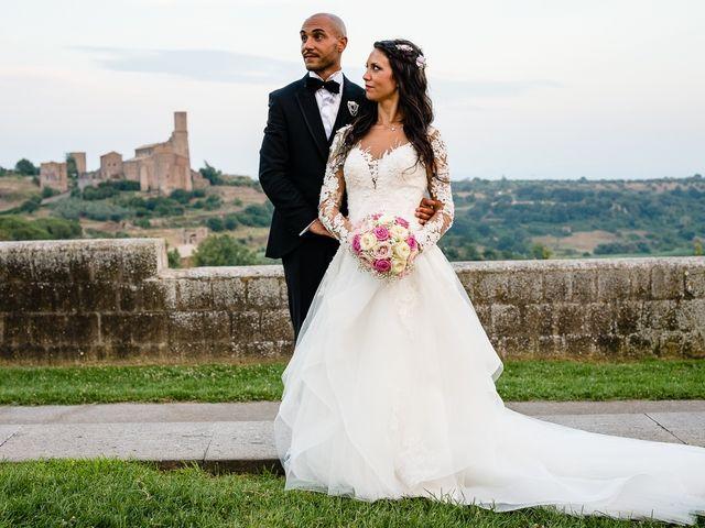 Il matrimonio di Antonio e Cristina a Tuscania, Viterbo 37