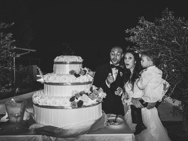 Il matrimonio di Antonio e Cristina a Tuscania, Viterbo 45