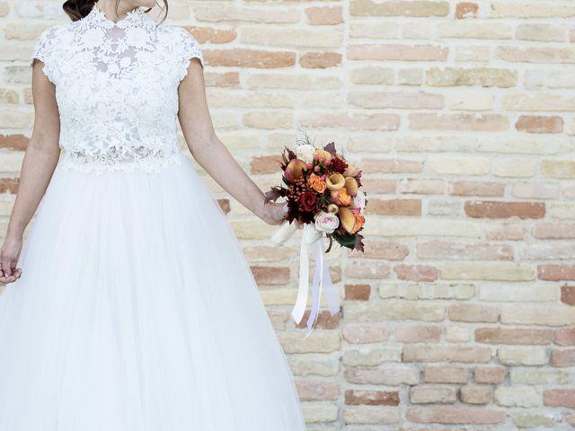 Il matrimonio di Danilo e Elisa a Chiaravalle, Ancona 36