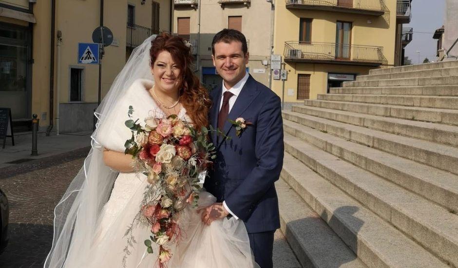 Il matrimonio di Stefano  e Chantal a Carnago, Varese
