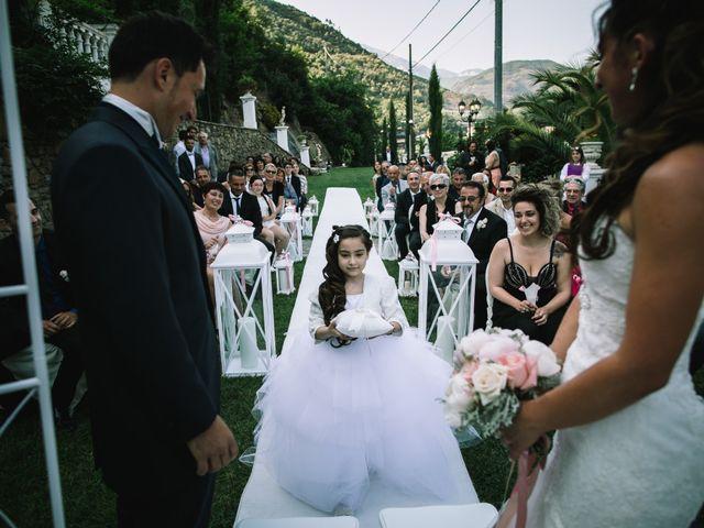 Il matrimonio di Fabio e Alice a Isolabona, Imperia 8