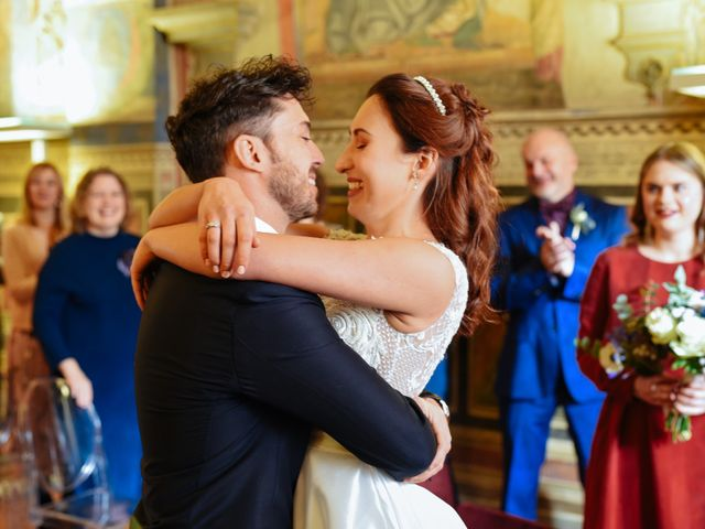 Il matrimonio di Marco e Anastasia a San Miniato, Pisa 11