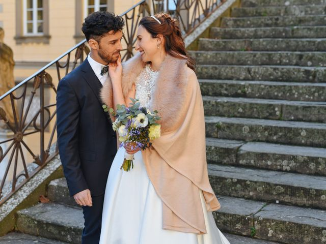 Il matrimonio di Marco e Anastasia a San Miniato, Pisa 1