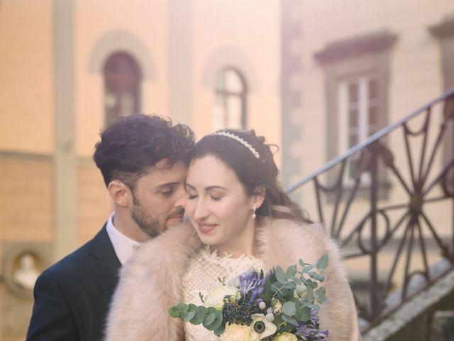 Il matrimonio di Marco e Anastasia a San Miniato, Pisa 13