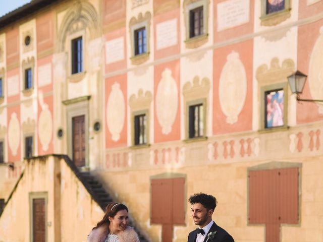 Il matrimonio di Marco e Anastasia a San Miniato, Pisa 14