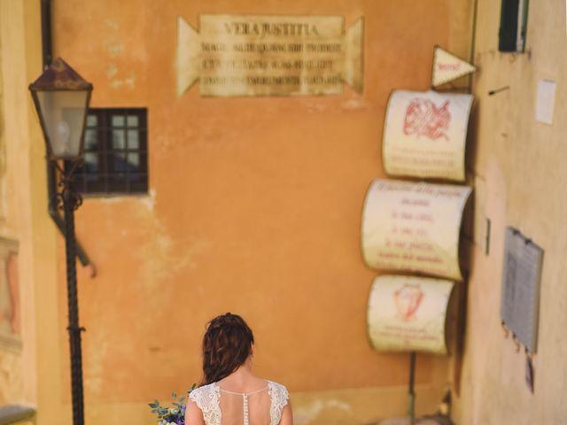 Il matrimonio di Marco e Anastasia a San Miniato, Pisa 16