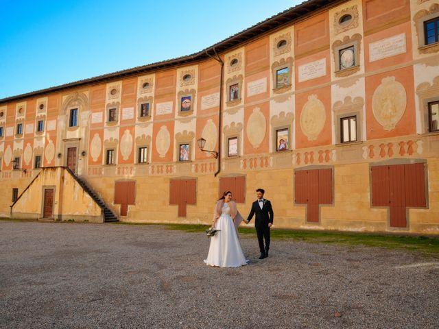 Il matrimonio di Marco e Anastasia a San Miniato, Pisa 19