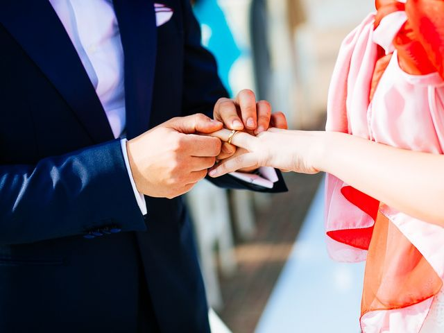 Il matrimonio di Francesco e Gledis a Trescore Balneario, Bergamo 28
