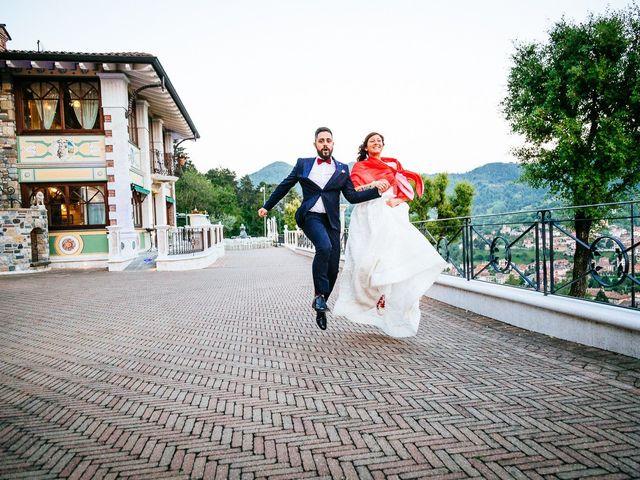 Il matrimonio di Francesco e Gledis a Trescore Balneario, Bergamo 47