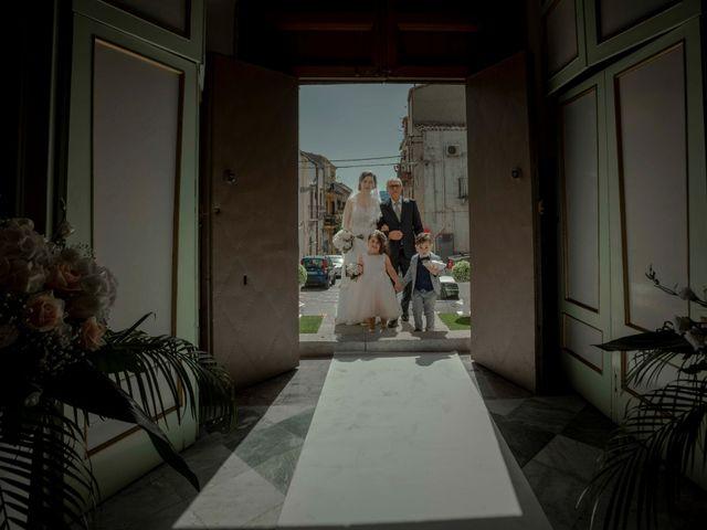 Il matrimonio di Giampietro e Ornella a Bisacquino, Palermo 13