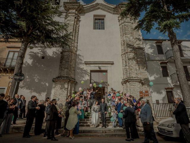 Il matrimonio di Giampietro e Ornella a Bisacquino, Palermo 14