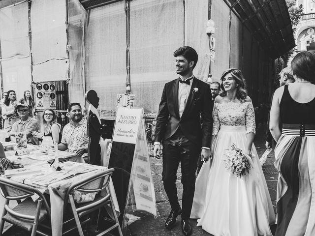 Il matrimonio di Rossana e Rodolfo a Sorrento, Napoli 41