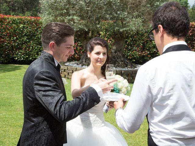 Il matrimonio di Davide e Ester a Lurate Caccivio, Como 17