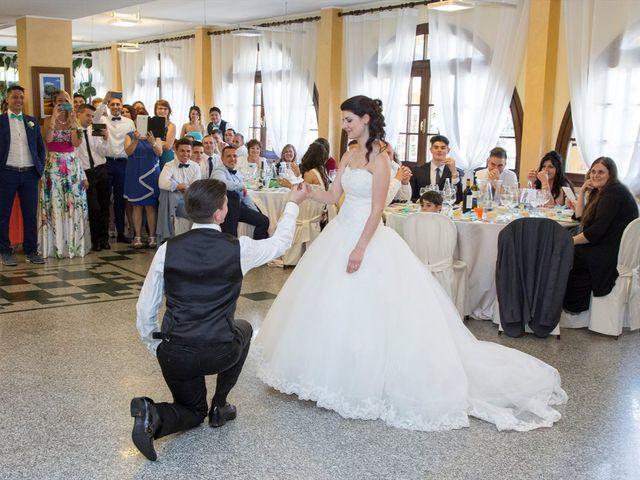 Il matrimonio di Davide e Ester a Lurate Caccivio, Como 23