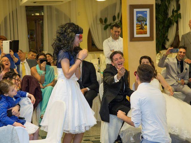 Il matrimonio di Davide e Ester a Lurate Caccivio, Como 25
