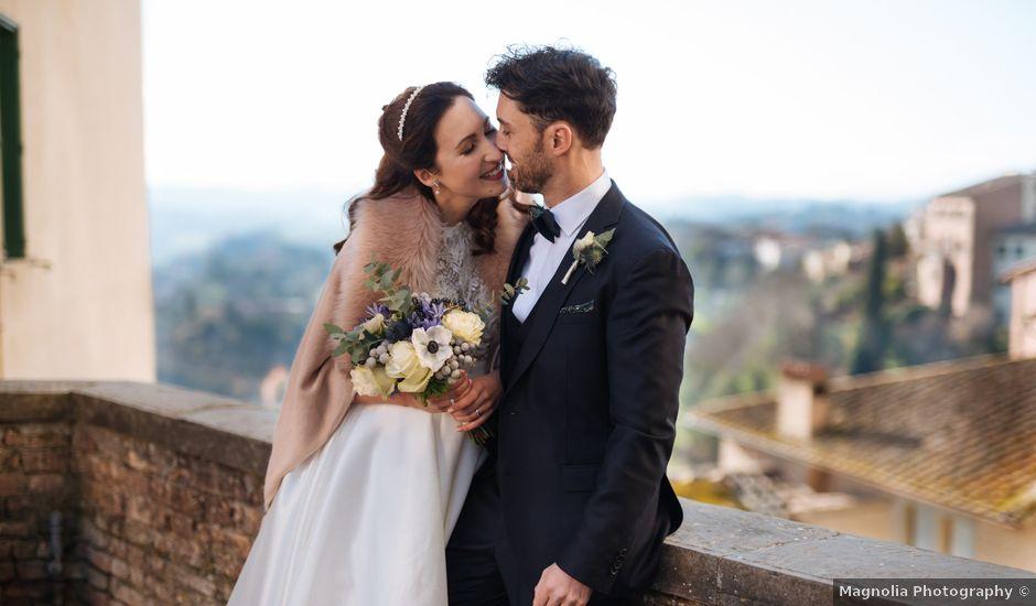 Il matrimonio di Marco e Anastasia a San Miniato, Pisa