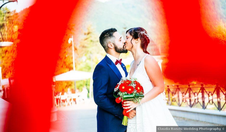 Il matrimonio di Francesco e Gledis a Trescore Balneario, Bergamo
