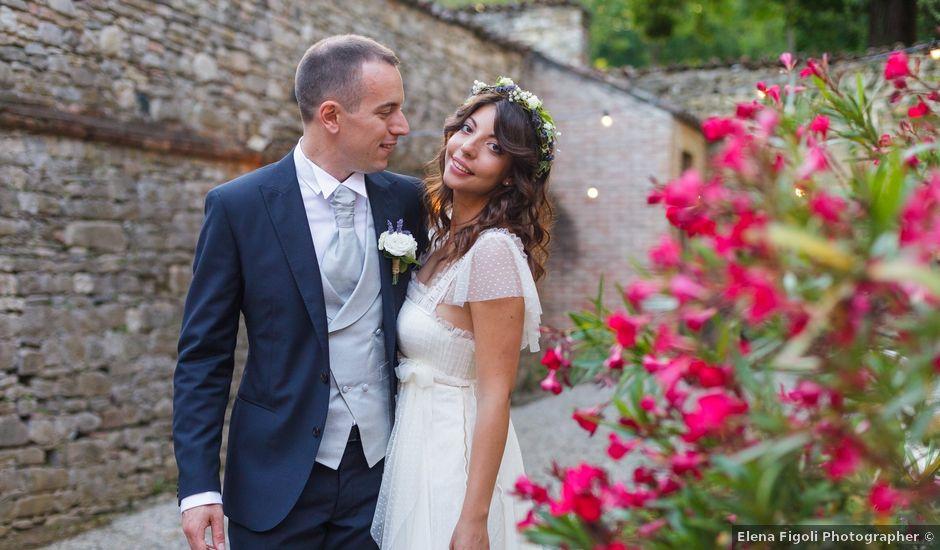 Il matrimonio di Matteo e Francesca a Vigolzone, Piacenza