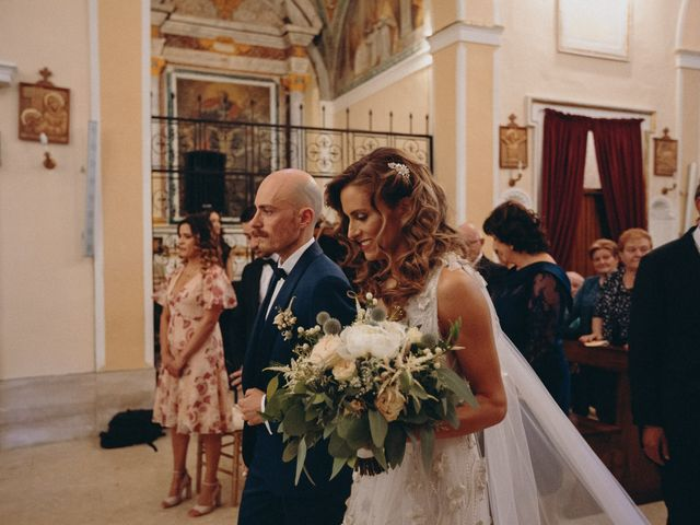 Il matrimonio di Davide e Giovanna a Massignano, Ascoli Piceno 27
