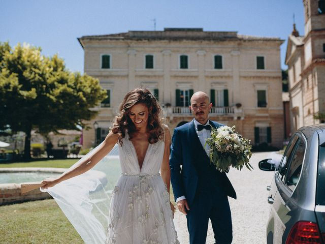 Il matrimonio di Davide e Giovanna a Massignano, Ascoli Piceno 47