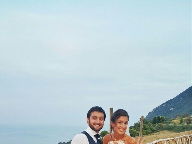 Il matrimonio di Simone e Gloria a Chiaravalle, Ancona 2