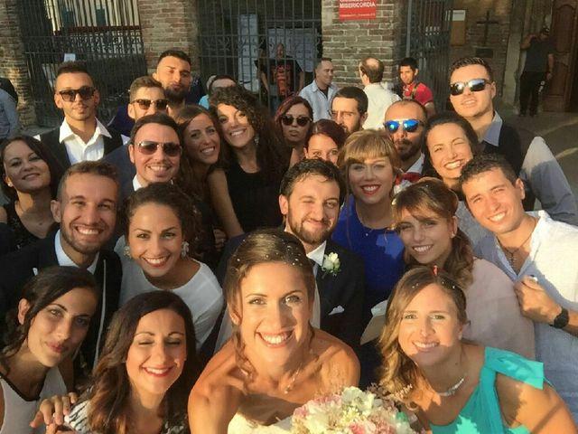 Il matrimonio di Simone e Gloria a Chiaravalle, Ancona 8