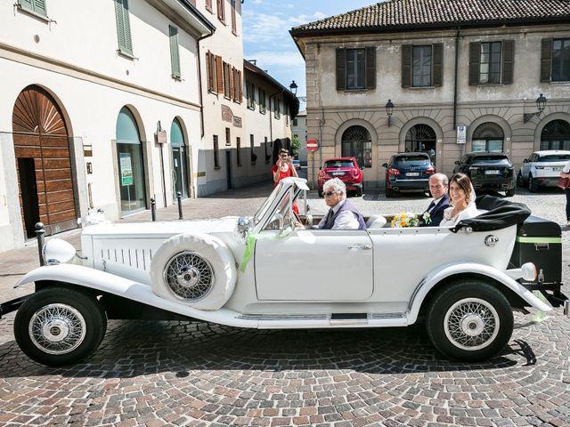 Il matrimonio di Lorenzo e Anna a Inzago, Milano 31