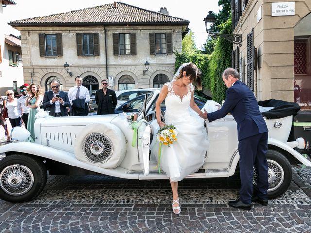 Il matrimonio di Lorenzo e Anna a Inzago, Milano 32