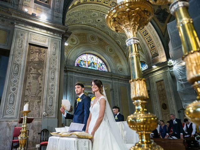 Il matrimonio di Lorenzo e Anna a Inzago, Milano 38