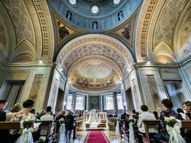Il matrimonio di Lorenzo e Anna a Inzago, Milano 39