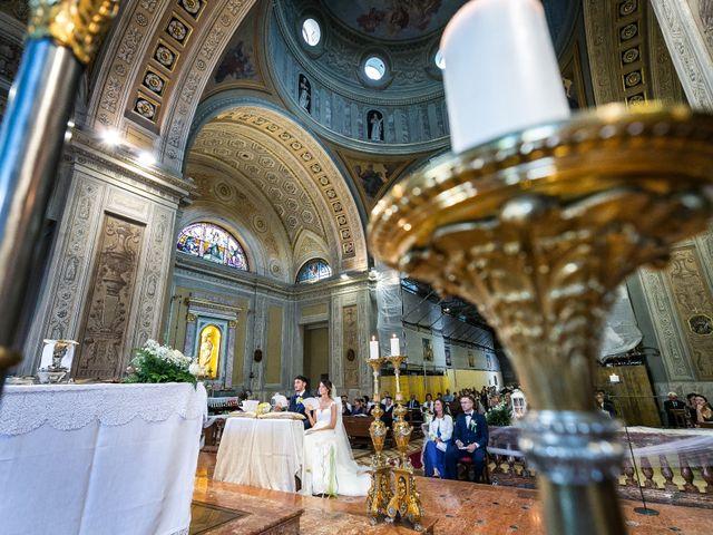Il matrimonio di Lorenzo e Anna a Inzago, Milano 40
