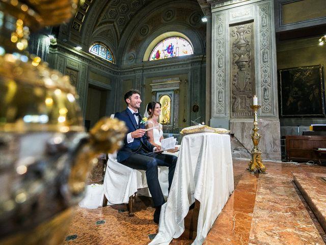 Il matrimonio di Lorenzo e Anna a Inzago, Milano 41