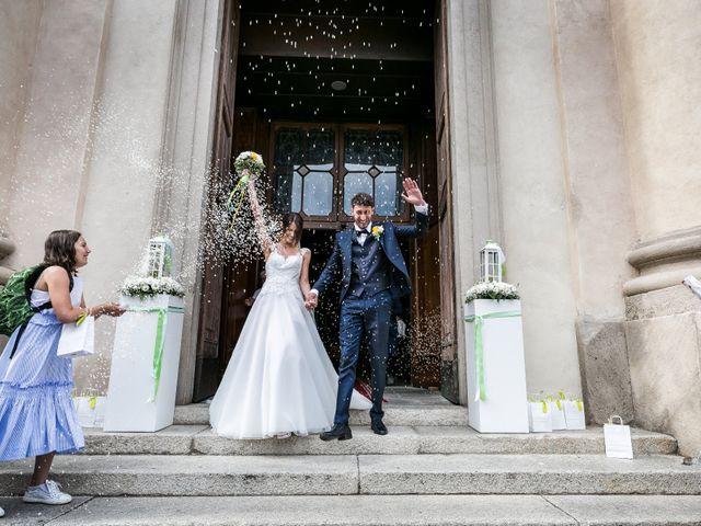 Il matrimonio di Lorenzo e Anna a Inzago, Milano 42