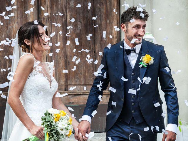 Il matrimonio di Lorenzo e Anna a Inzago, Milano 43