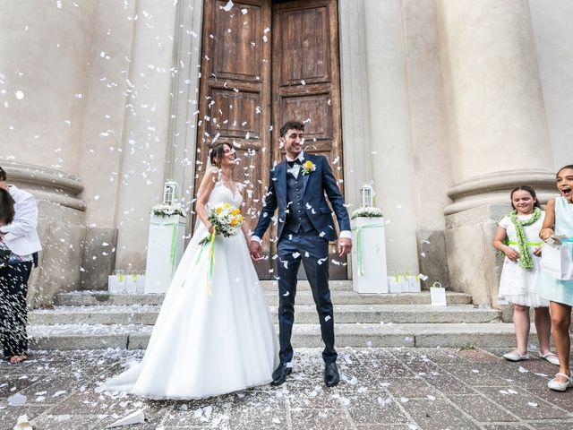 Il matrimonio di Lorenzo e Anna a Inzago, Milano 44