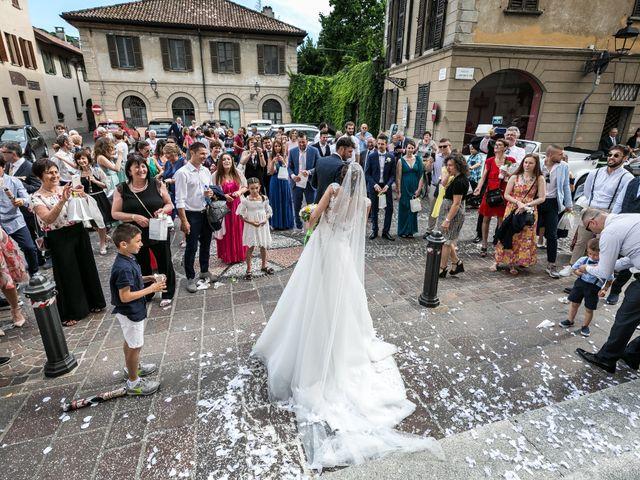 Il matrimonio di Lorenzo e Anna a Inzago, Milano 45