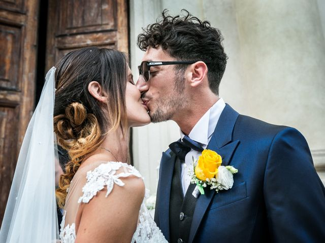 Il matrimonio di Lorenzo e Anna a Inzago, Milano 51