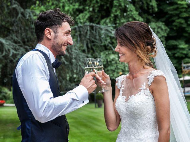 Il matrimonio di Lorenzo e Anna a Inzago, Milano 62