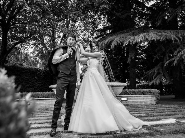 Il matrimonio di Lorenzo e Anna a Inzago, Milano 71
