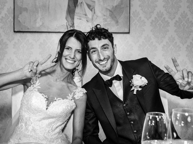 Il matrimonio di Lorenzo e Anna a Inzago, Milano 75
