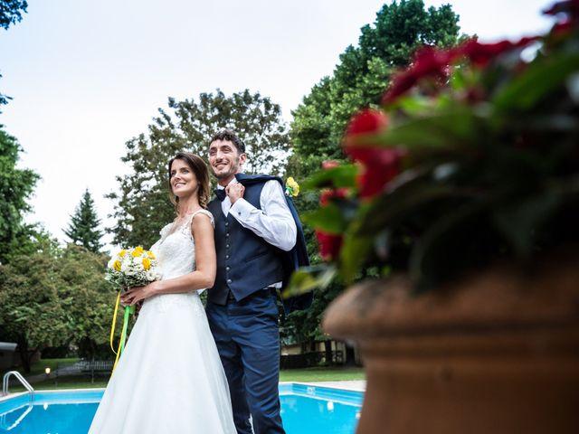 Il matrimonio di Lorenzo e Anna a Inzago, Milano 78