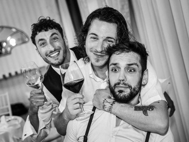 Il matrimonio di Lorenzo e Anna a Inzago, Milano 80