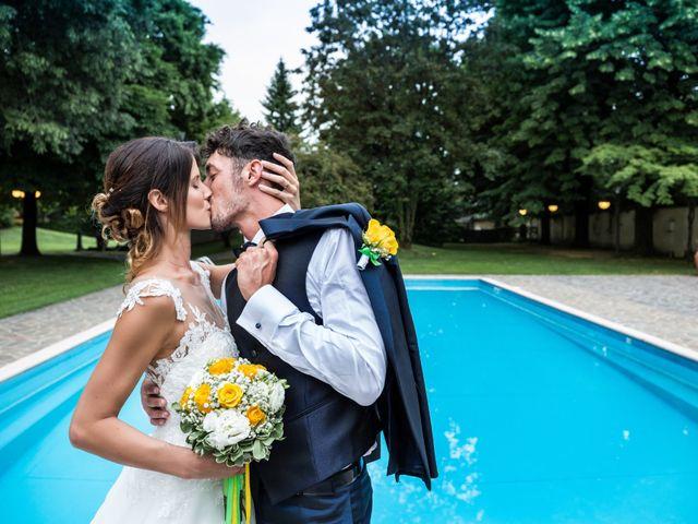 Il matrimonio di Lorenzo e Anna a Inzago, Milano 81