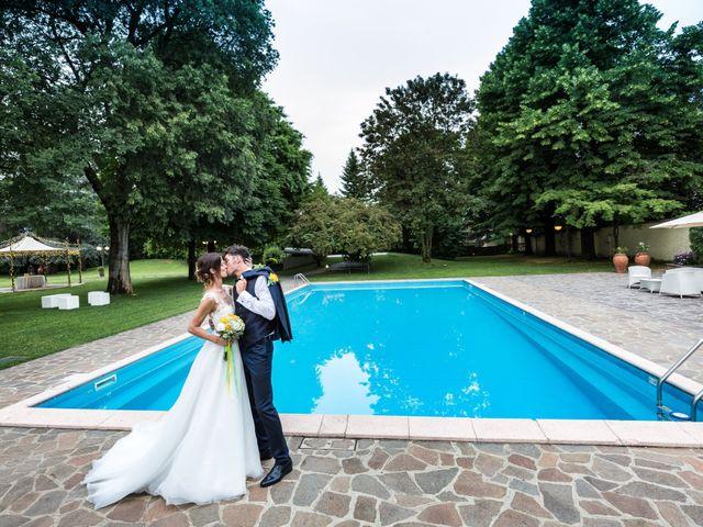 Il matrimonio di Lorenzo e Anna a Inzago, Milano 82
