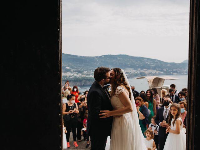 Il matrimonio di Paolo e Francesca a Vico Equense, Napoli 27